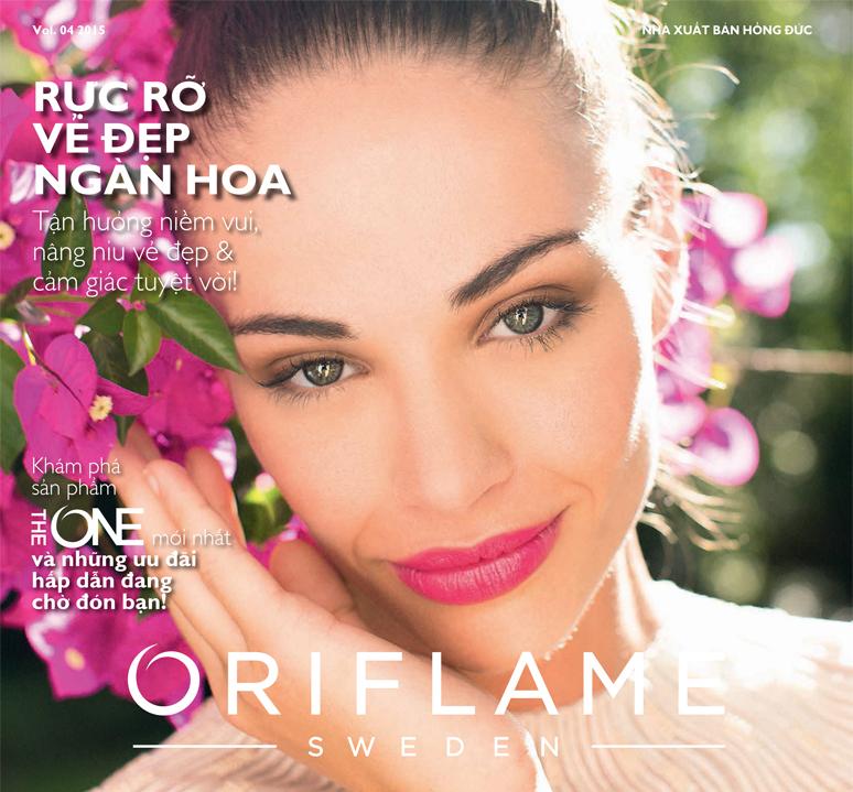 Catalogue mỹ phẩm Oriflame tháng 4-2015